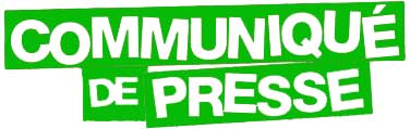 Communiqué de presse de mise au point