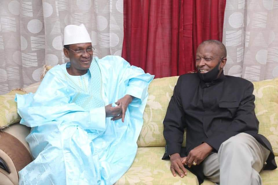 Rencontre entre le Dr Soumana SAKO et le nouveau Premier Ministre Dr. Choguel Kokala Maïga – BAMBARA